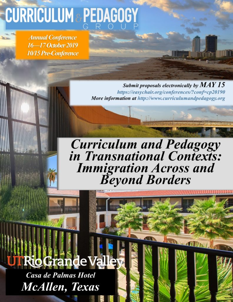 Conference 2019– Curriculum and Pedagogy in Transnational